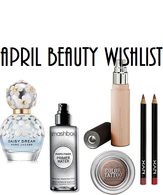 april beauty wishlist