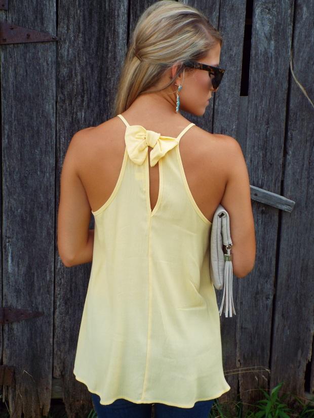 bow back shirt
