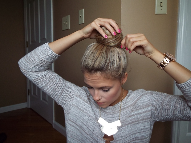 top bun tutorial