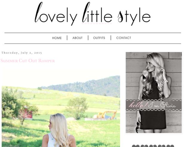 lovely little style blog