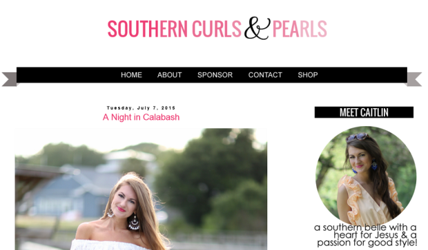 southern pearls and curls blog